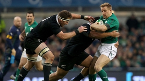 Luke Fitzgerald's last appearance for Ireland was against the All Blacks in November 2013