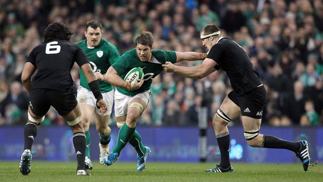 New Zealand scored a stoppage-time try to secure victory against Ireland