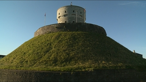 Radar equipment is being used to look below the surface at Millmount Fort