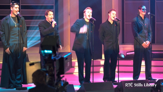 Boyzone on Late Late Show (1999)