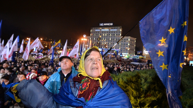 Ukrainians are angry that the trade pact was rejected