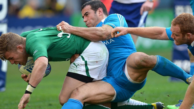 Gonzalo Canale won't see any action in the 2014 RBS 6 Nations