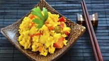 Saffron Cinnamon Basmati Rice