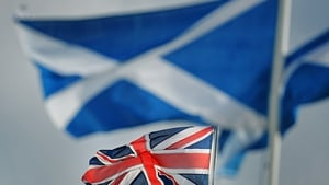 "A YouGov survey put the ""Yes"" to Scottish independence campaign at 51% against the ""no"" camp at 49%"