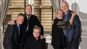 The Python reunion shows didn't excite John Cleese (far right)
