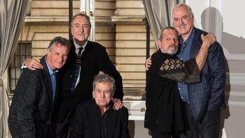 Monty Python: older. Still funny