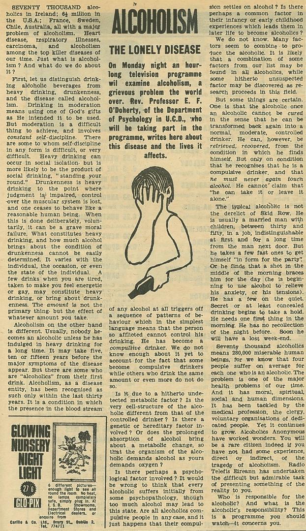 RTÉ Guide 24/11/1967 Vol 4 No 48
