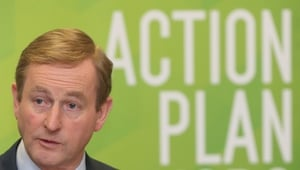The Taoiseach said 90% of measures in the jobs action plan have been achieved