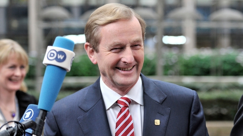 Enda Kenny has three weeks to reply to the MEP questionnaire