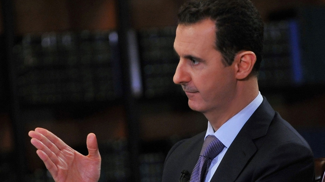 Syrian authorities say they will resist demands for Bashar al-Assad to stand down