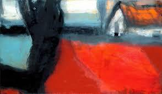 Artist Hughie O'Donoghue