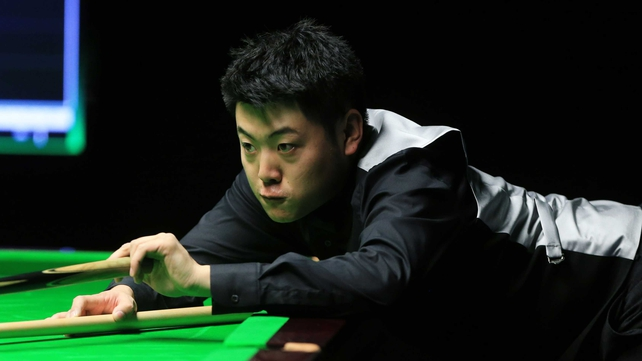 Liang Wenbo will face young Scot Michael Leslie in the next round