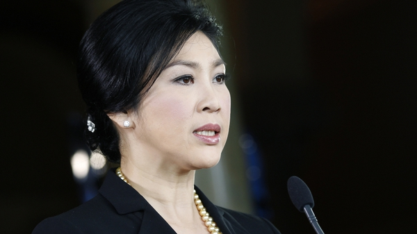 Yingluck Shinawatra easily survived a no confidence vote in parliament