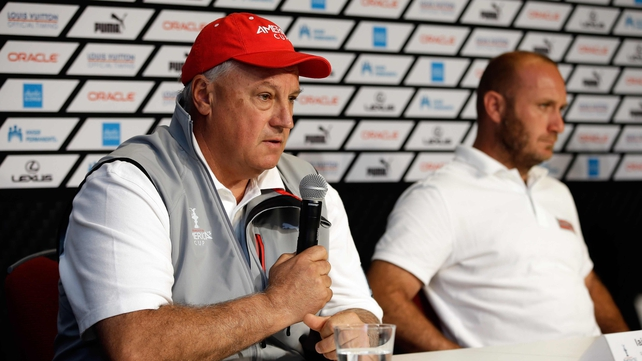 Iain Murray will mastermind Australia's 2014 Americas Cup challenge