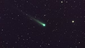 Comet ISON was thought to be up to 1.2km wide (Pic: Nasa)