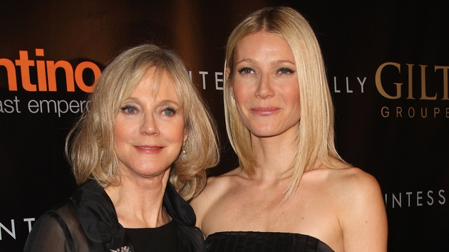 Mother and daughter, Blythe Danner and Gwyneth Paltrow