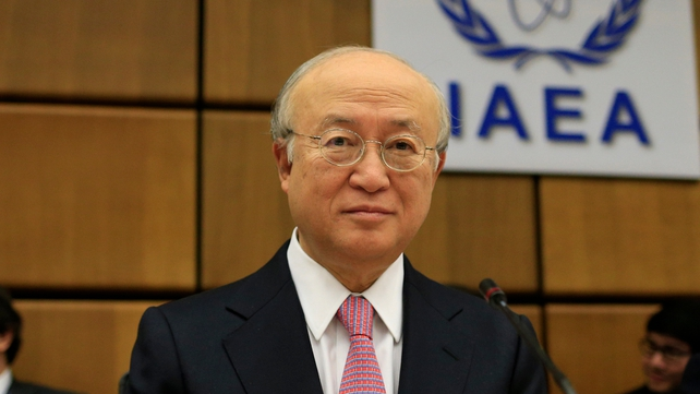 Yukiya Amano said he will inform the IAEA board once the analysis is complete