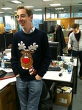 Betting on Ryan's Christmas Jumper
