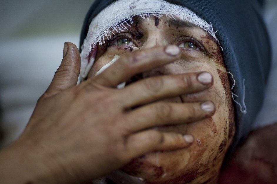 Aida, Idlib, Syria (Rodrigo Abd, Argentina, The Associated Press)