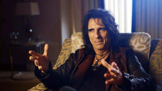 Alice Cooper hosts 50 Years of Rock Excess on Channel 4