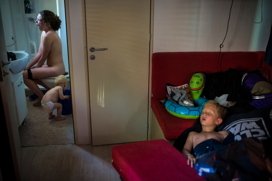 Early Morning on Summer Holiday, Italy (Søren Bidstrup, Denmark, Berlingske)