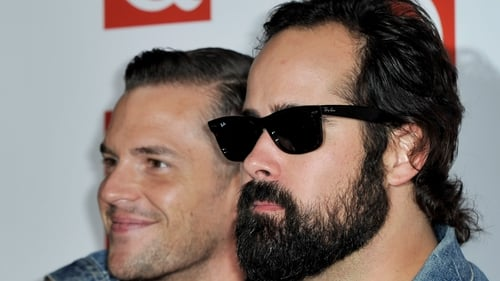 Brandon Flowers and Ronnie Vannucci Jr.