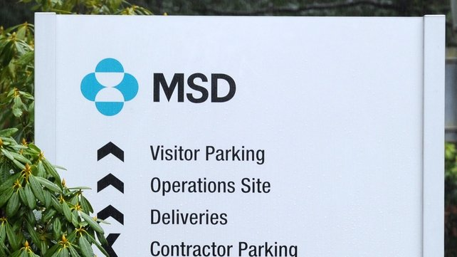 570 jobs could be lost with the closure of MSD in Swords, Co Dublin