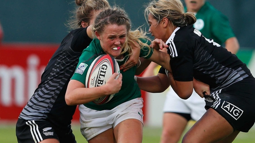 Ireland lost 29-0 to New Zealand