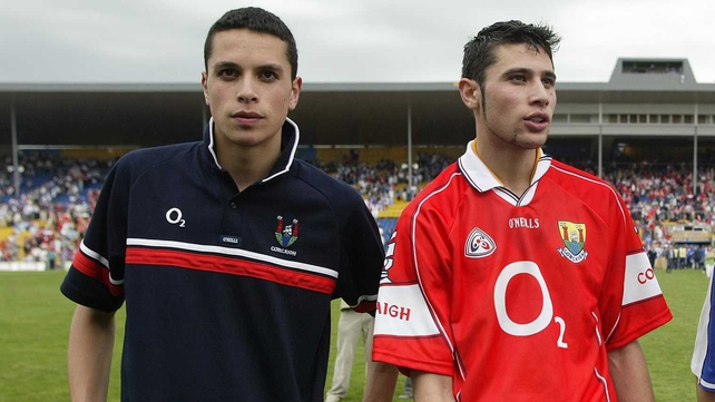 Aisake (left) and Setanta both represented Cork and Na Piarsaigh