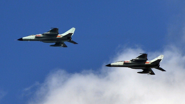 China has demanded that foreign aircraft identify themselves if flying through the disputed zone