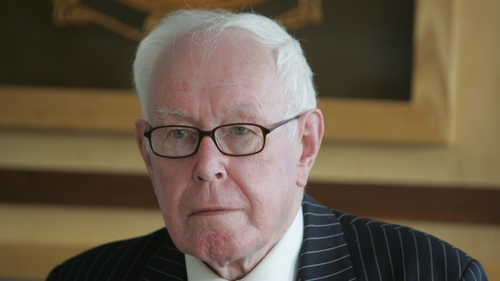 Judge Peter Smithwick (Pic: Photcall/Leon Farrell)