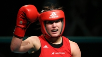 Jimmy Magee looks ahead to Katie Taylor's return to the ring this weekend.