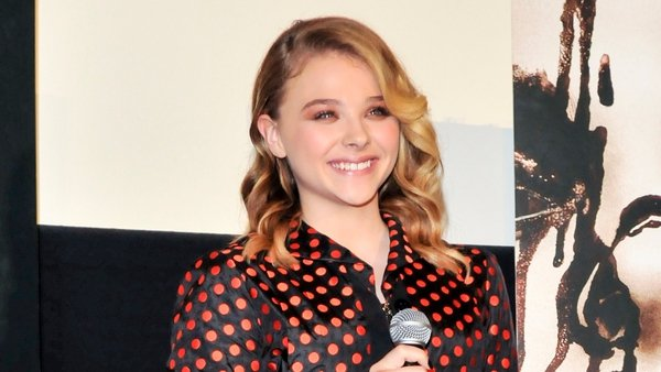 Chloe Moretz danced to ABBA while filming Carrie