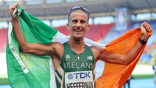 Rob Heffernan is looking to follow up on his 2013 world 50km walk gold with European success
