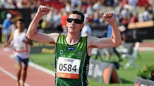 Michael McKillop is part of an Irish team heading to the south of Wales