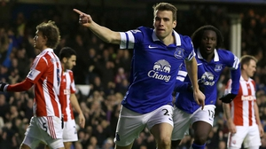 Seamus Coleman is working his way back to full fitness with Everton