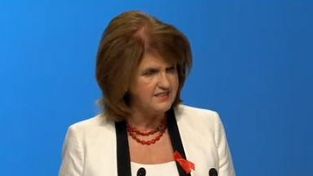 Joan Burton rejected a reference to staff in her department as 'henchmen'