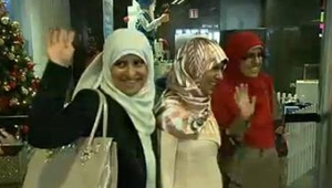 28-year-old Somaia, 22-year-old Fatima and 21-year-old Omaima were detained following clashes in Cairo