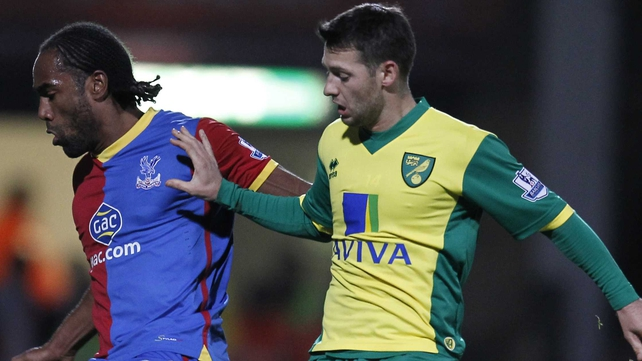 Wes Hoolahan and his Norwich team-mates travel to Merseyside  on Wednesday to play Liverpool