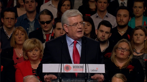 Tánaiste Eamon Gilmore said he promised there would be no return to the policies that caused the crash