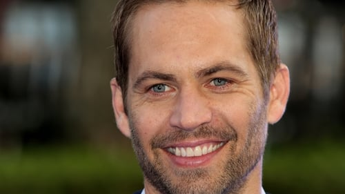 Actor Paul Walker who has died in a car crash in California