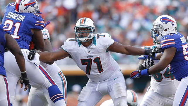 Jonathan Martin is off the Dolphins' 53-man roster