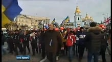 More anti-government demonstrations in Kiev