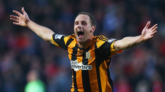 David Meyler is elated after restoring Hull's lead