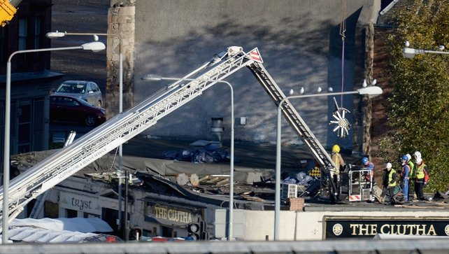 Nine people have now been confirmed to have died in the Glasgow police helicopter crash