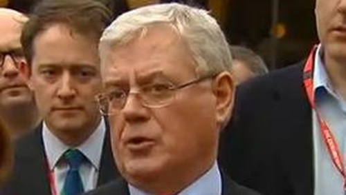 Eamon Gilmore said intervention possible if no deal reached in Northern Ireland