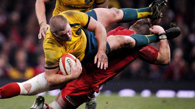 Dan Lydiate: 'Although we lost against Australia we can move on again and come back for the Six Nations'