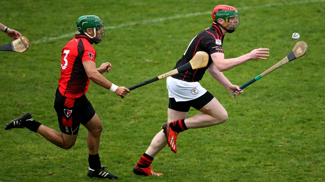 Mount Leinster Rangers' Edward Byrne and Keith Rossiter of Oulart-The Ballagh