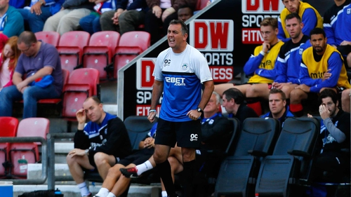 Owen Coyle leaves Wigan in 14th place in the Championship