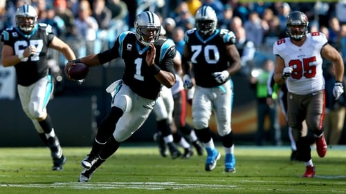 Carolina Panthers quarterback Cam Newton wreaked havoc on the Tampa Bay Buccaneers at the Bank of America Stadium in Charlotte